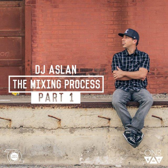 DJ Aslan - The Mixing Process mixtape cover