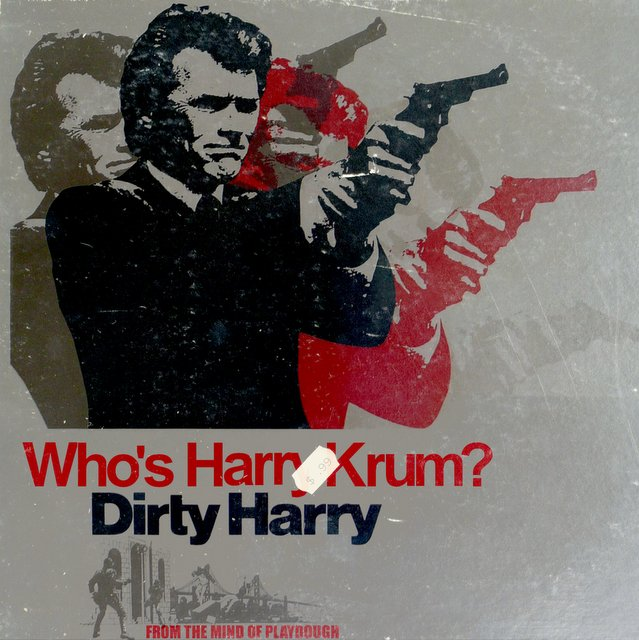 Playdough Dirty Harry beat tape cover