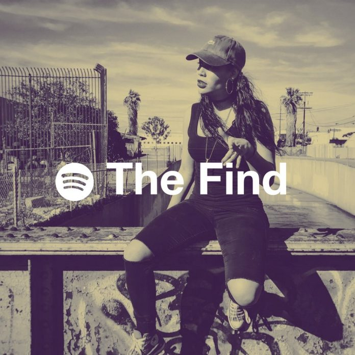 The Find playlist on Spotify - Curated by Sphere of Hip-Hop